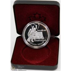1997 CANADIAN PROOF SILVER DOLLAR IN DISPLAY