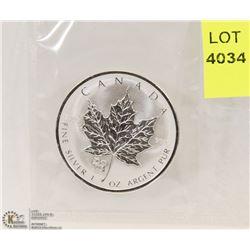 2006 CANADIAN 1-OZ FINE SILVER $5 COIN