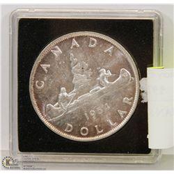 1954 CANADIAN SILVER DOLLAR.