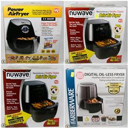 FEATURED ITEMS: OIL-LESS AND REDUCED OIL FRYERS!