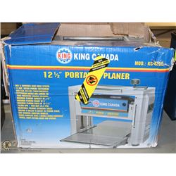 """KING CANADA 12.5"""" THICKNESS PLANER"""