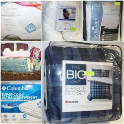 FEATURED ITEMS: MEMORY FOAM PILLOWS, TOPPERS