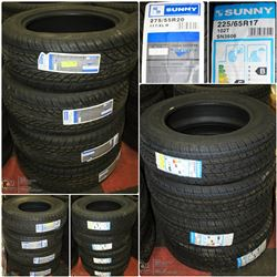 FEATURED ITEMS: NEW TIRES