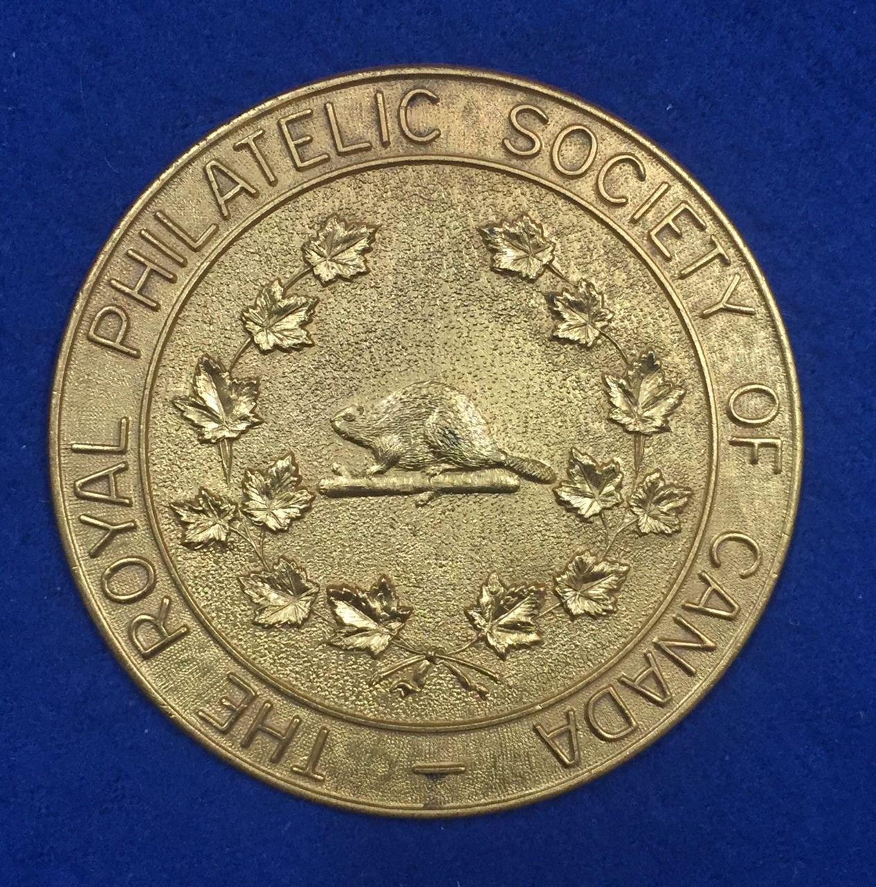 The Royal Philatelic Society of Canada Medal