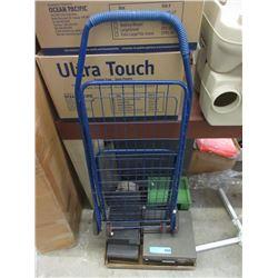 4 Bolt/Screw Organizers & a Shopping Cart