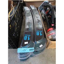 "12 New Alpine X 18"" Windshield Wipers"