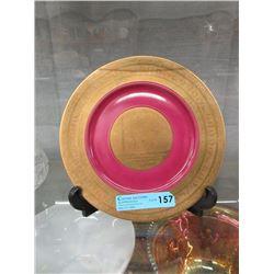 """Vintage J K Carlsbad """"Fairies"""" Cabinet Plate"""