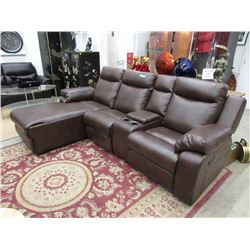 """New 97"""" Double Reclining Sofa with Chaise End"""