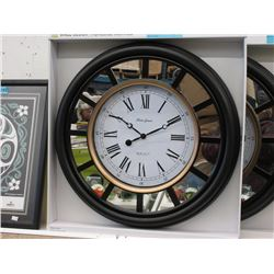 "New 20"" Wall Clock with Glass Lens"