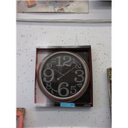 """New 15"""" Wall Clock with Glass Lens"""