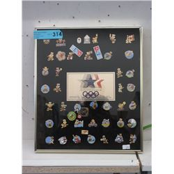 Limited Edition 1984 Olympics Lapel Pins