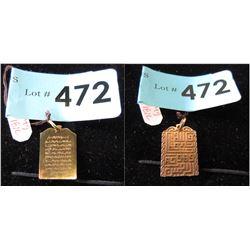 18 KT Gold Pendant - 4 Grams