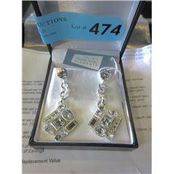 New Swarovski Elements Designer Earrings