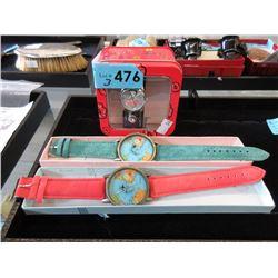 3 New Wrist Watches