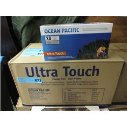 Case of Powder Free Disposable Nitrile Gloves