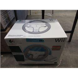 New Logitech Wii Wireless Steering Wheel