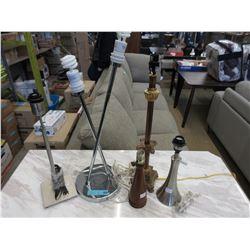 5 Lamp Bases.