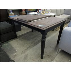 New LH Imports Farmhouse Style Table w/ Leaf