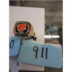 1989 Calgary Flames Stanley Cup Replica Ring