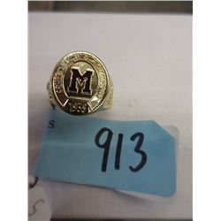 1935 Montreal Maroons Stanley Cup Replica Ring