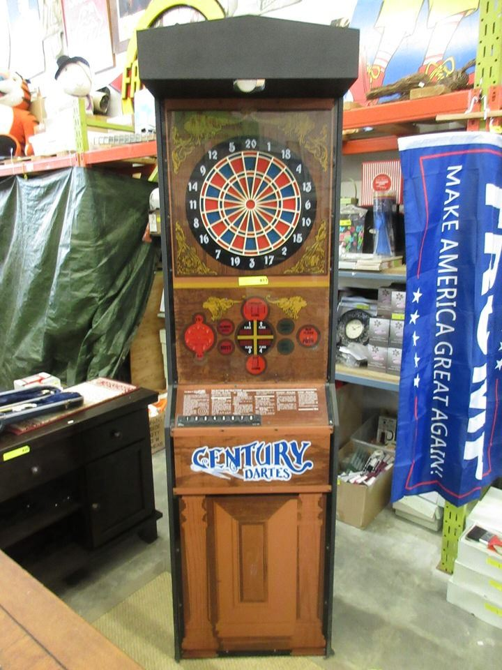 Electric Pub Style Dart Board - Coin Operated