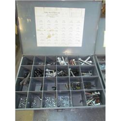3 conatiners Metric nuts & bolts