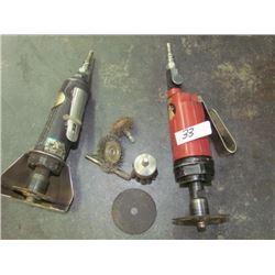 Air grinders cw accessories