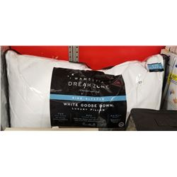 White Goose Down Pillow 4 Side Sleeper