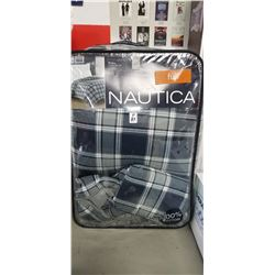 Nautica Double Full 5 piece set 100% cotton