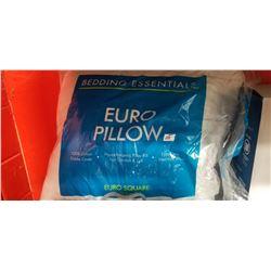 Euro Pillow Hypoallergenic 100% Cotton