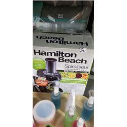 Hamilton Beach spiralizer