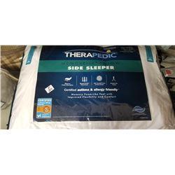 Therapedic side sleeper pillow