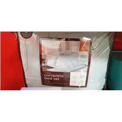 King size 7 piece complete bed set