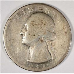 1932-D WASHINGTON QUARTER GOOD