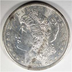 1881-S MORGAN DOLLAR CHOICE BU