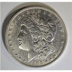 1900-O/CC MORGAN DOLLAR, XF/AU
