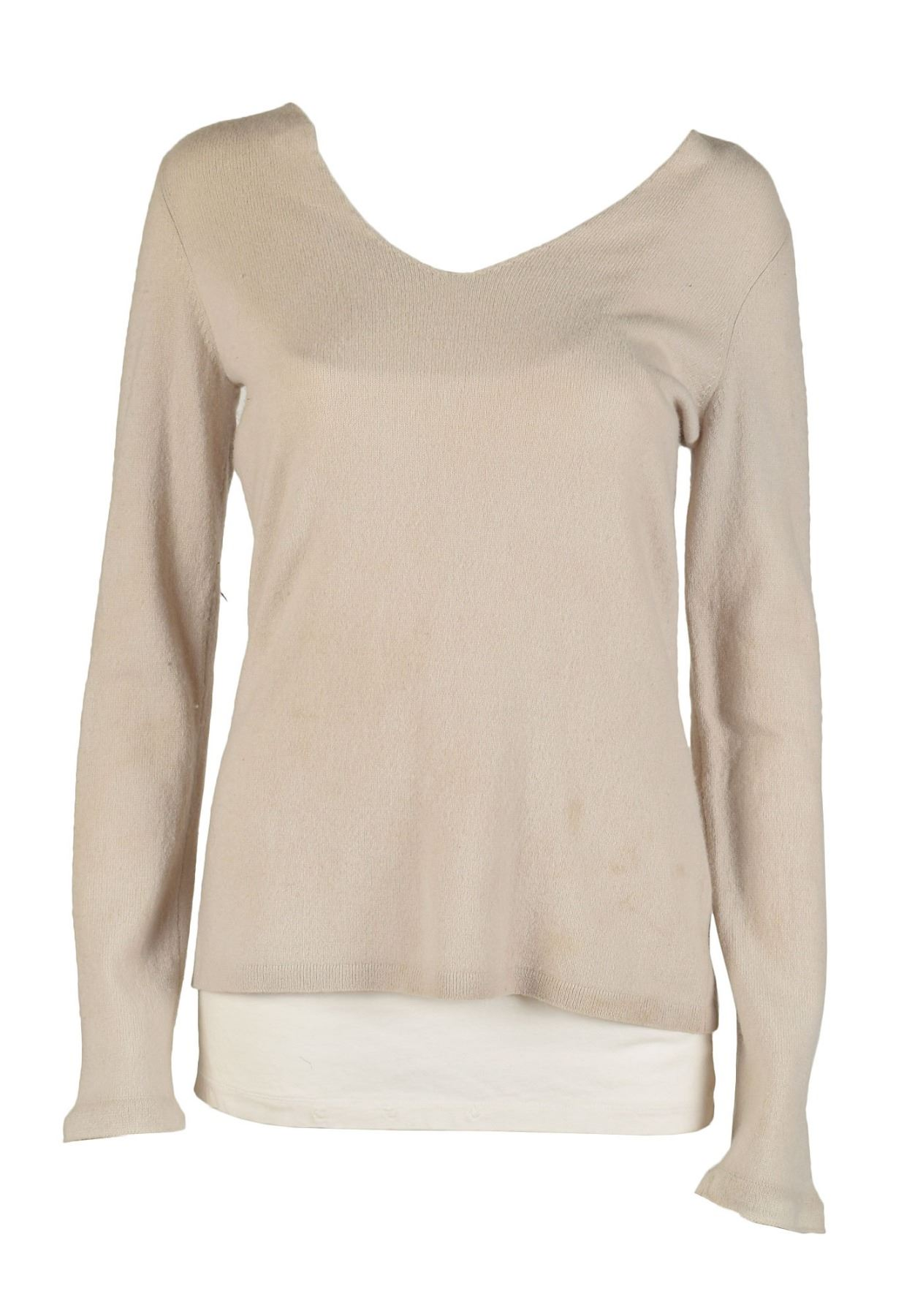 Diane Lane's Screen-Worn Undershirt and Sweater from