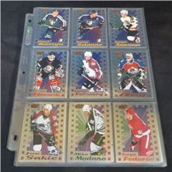 1998-99 Pacific Dynagon Ice Inserts Complete Set