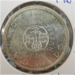 1964 Canadian Silver $1 Coin
