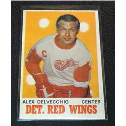 1970-71 O-Pee-Chee #157 Alex Delvecchio