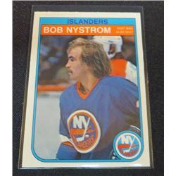 1982-83 O-Pee-Chee #208 Bob Nystrom