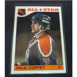 1985-86 Topps Sticker Inserts #4 Paul Coffey