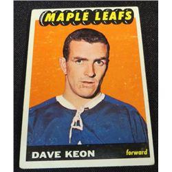 1965-66 Topps #17 Dave Keon