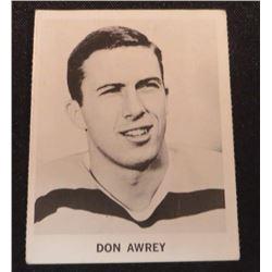 1965-66 Coca-Cola #17 Don Awrey