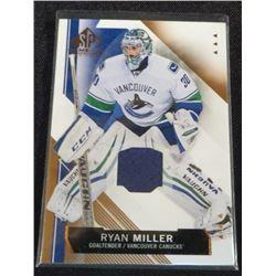 2015-16 SP Game Used Copper Jerseys Ryan Miller
