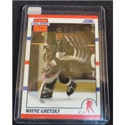 1990-91 Score #321 Wayne Gretzky AS2