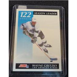 1991-92 Score Canadian Bilingual Wayne Gretzky