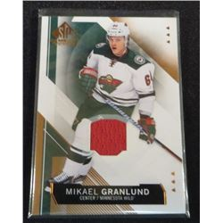 15-16 SP Game Used Copper Jersey Mikael Granlund