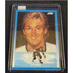 1991-92 Score Canadian English #376 Wayne Gretzky