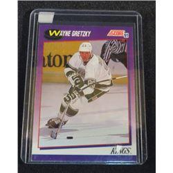 1991-92 Score American #100 Wayne Gretzky